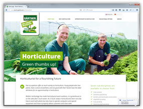 Website: Horticulturist for a flourishing future